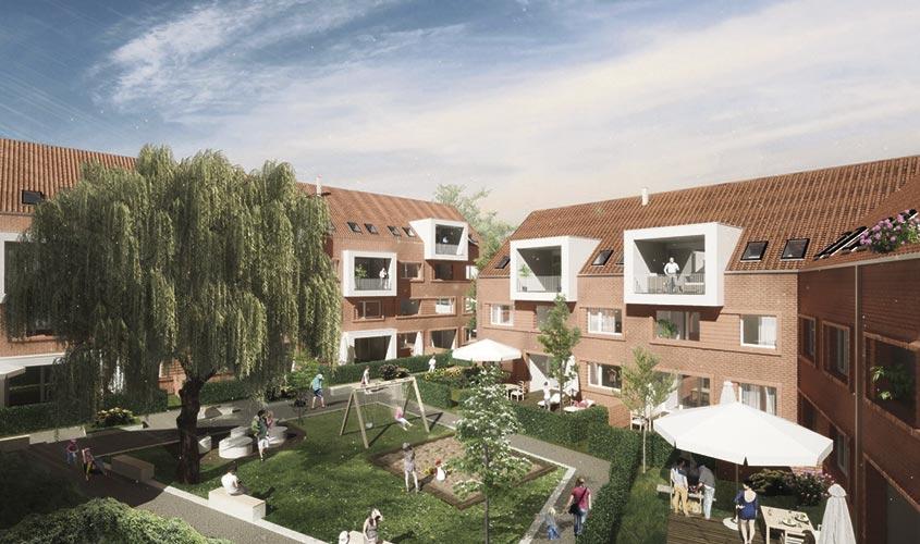Architekt Emsdetten wohnen in der quartiersmitte st joseph