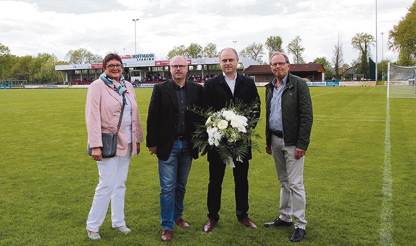 Getränke Hoffmann Stadion bleibt