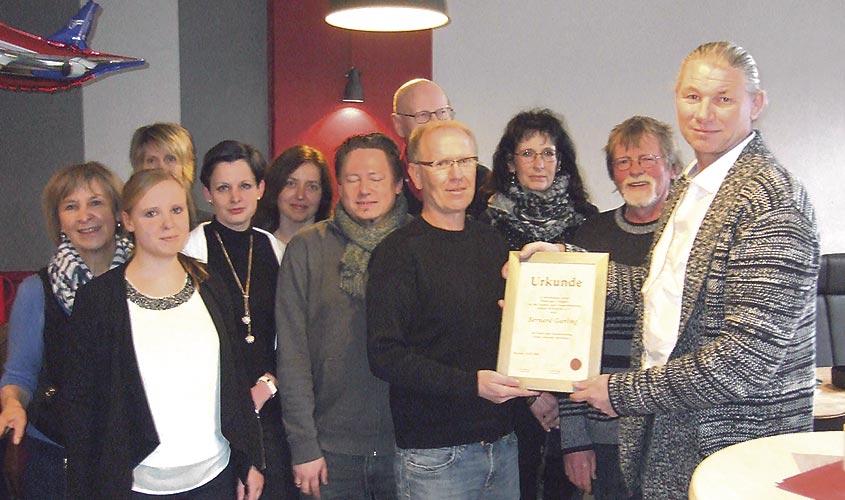 Bernard Garling feierte Jubiläum