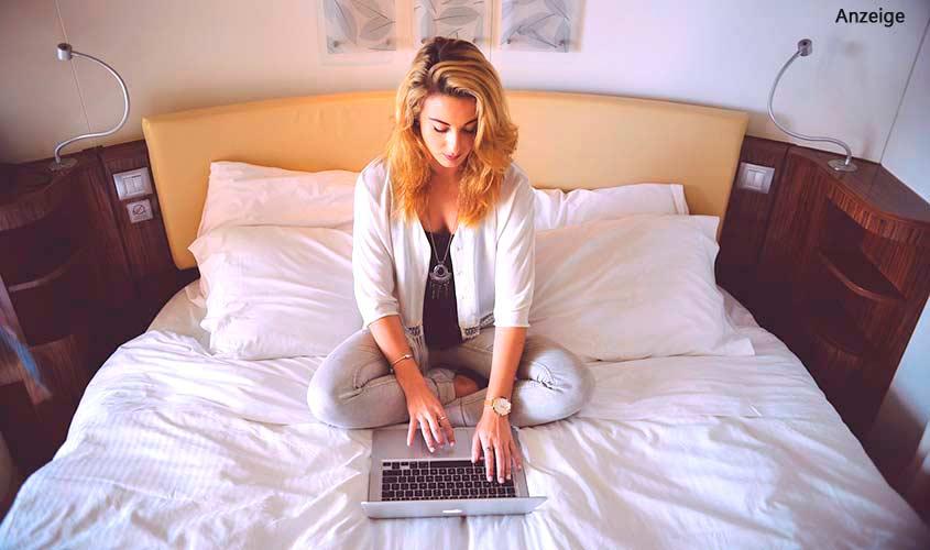 Online-Dating-Profil gelegt