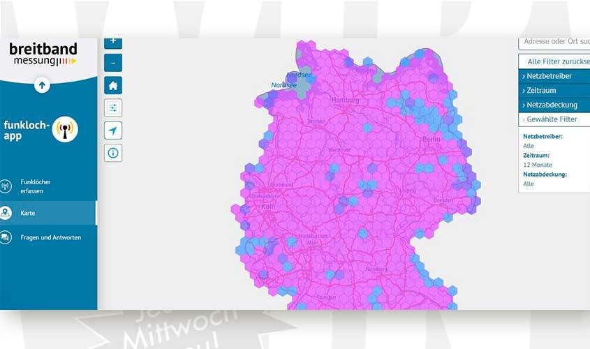 Funkloch App Bundesnetzagentur Veroffentlicht Karte Mit Ergebnissen
